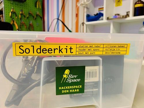 Revspace soldering kit | by hollyfh