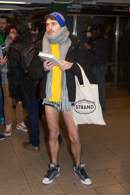 No Pants Subway Ride 2019