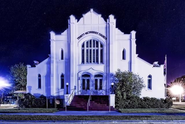Trinity United Methodist Church, 304 W Oak Street, Arcadia, Florida, USA / Built 1950