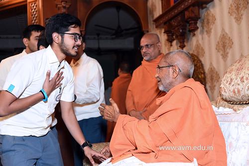 Std-10-11-12-visit-to-Haridham-for-Swamishree's-Blessings-(37) | by Atmiya Vidya Mandir