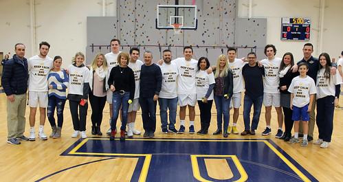 Penn Charter's 2018-19 boys basketball seniors with family members . . . Pic by John Burkhart. | by tedtee308