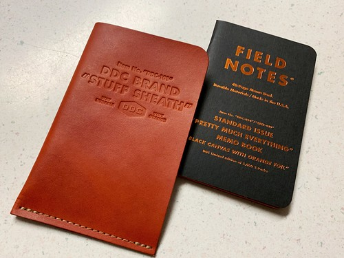 DDC Stuff Sheath and EEEK Field Notes | by ahockley