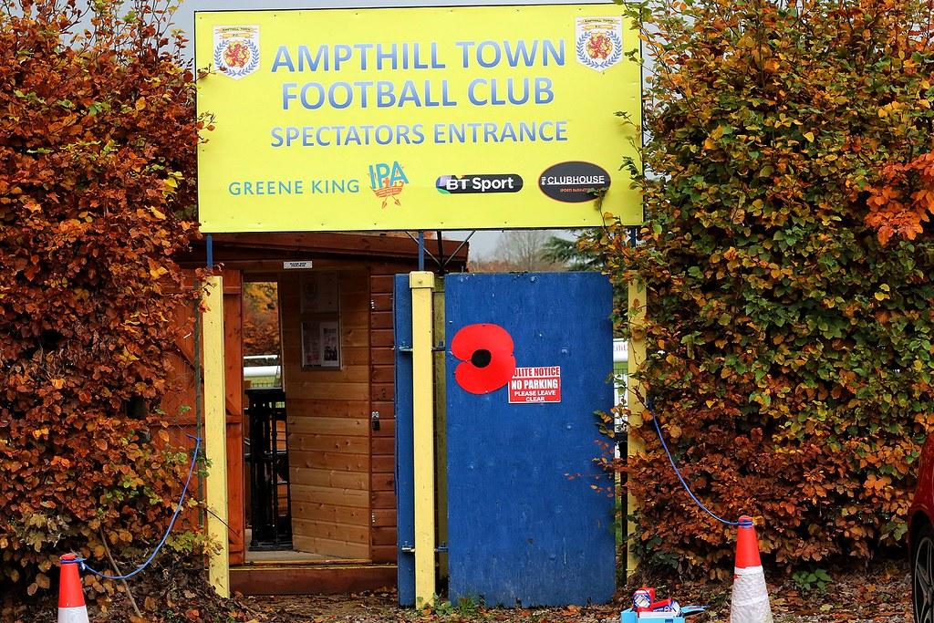 Ampthill Town v Buckingham Town SSMFL