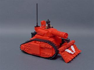 Battle tank   by crises_crs