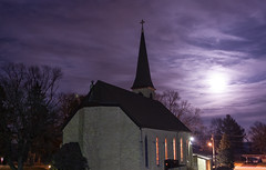 Blue Moon Over St. Mary's