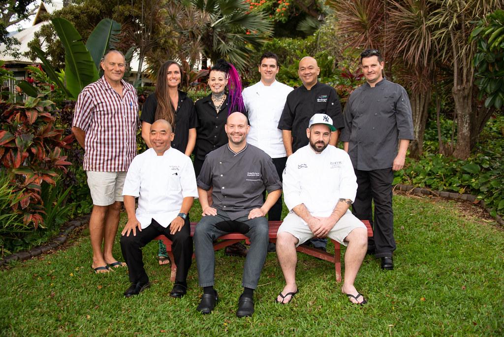 The chefs of Taste of School Gardens 2019