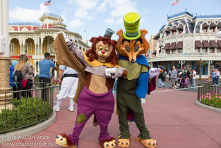 Meeting Foulfellow and Gideon   by Disney Dan