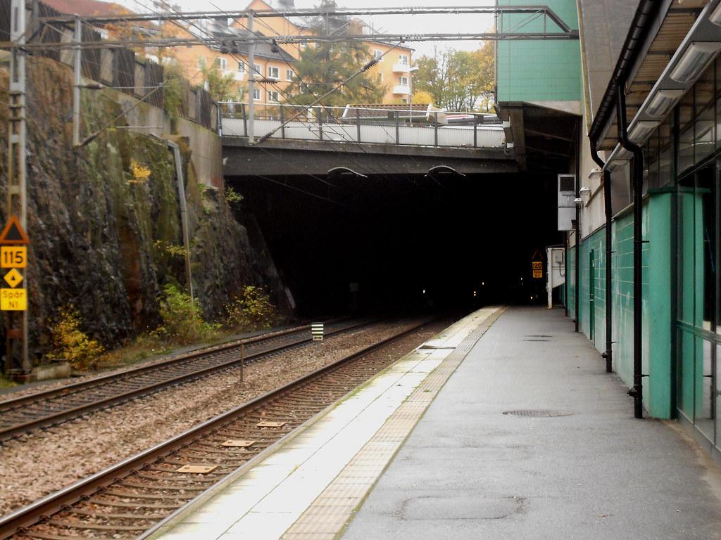 """Стокгольм. Станция """"Solna""""."""