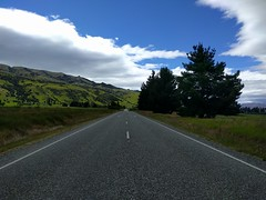 Cycling from Cromwell to Wanaka