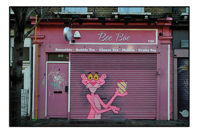 THE PINK PANTHER ON BETHNAL GREEN ROAD