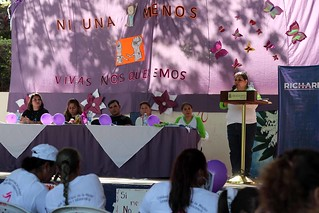 Acajutla rechaza la violencia contra las mujeres | by Secretaría de Inclusión Social - El Salvador