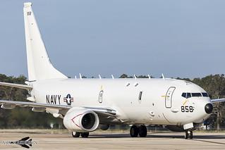 Boeing P-8A Poseidon 168858 VP-10 NAS Jacksonville   by Ivan Voukadinov