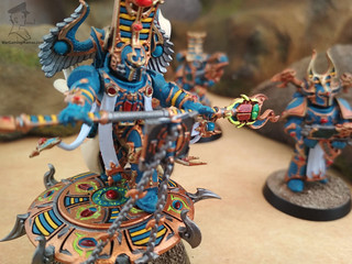 Thousand Sons - Rubic Marines and Sorcerers00005 | by Wargaming Mamas