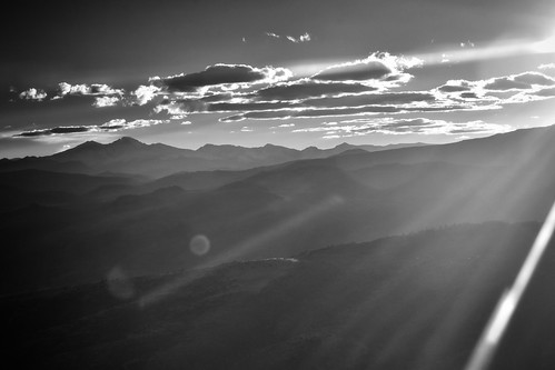 distanthills landscape scenery colorado sunset haze hills mountain longspeak blackandwhite