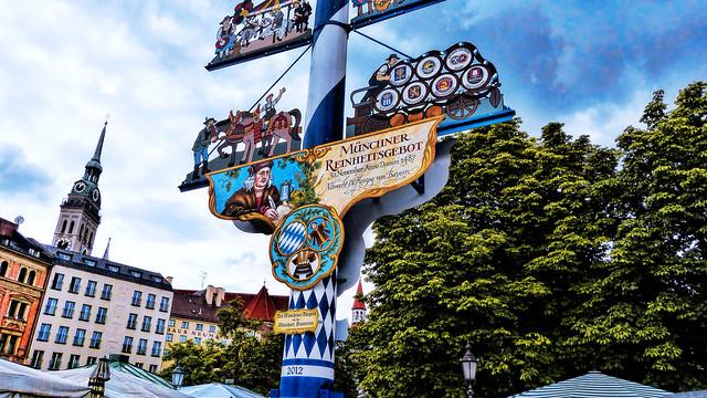 Múnich Viktualienmarkt pole