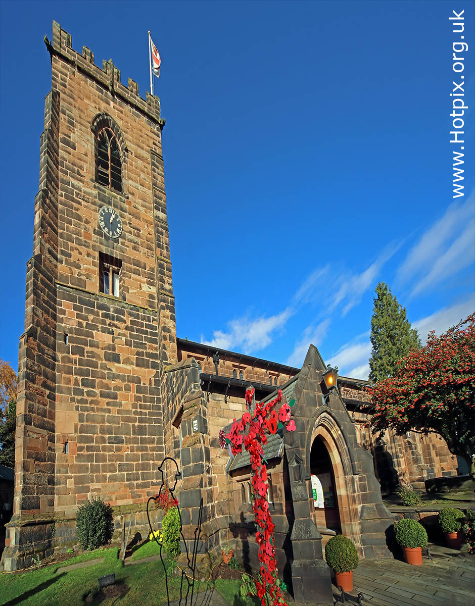 local church,St Wilfrids,Grappenhall,Warrington,Cheshire,GoTonySmith,365,2365,one a day,Tony Smith,Hotpix,HousingITguy,Project365,2nd 365,HotpixUK365,Tone Smith,cross,poppies,cross of poppies,red,red poppy,remembrance,Centenary