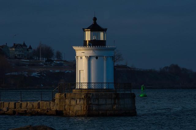 Bug Light South Portland , Maine