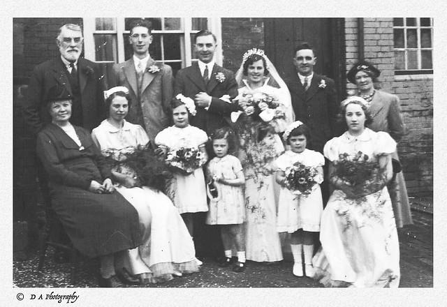 Wedding Circa 1939