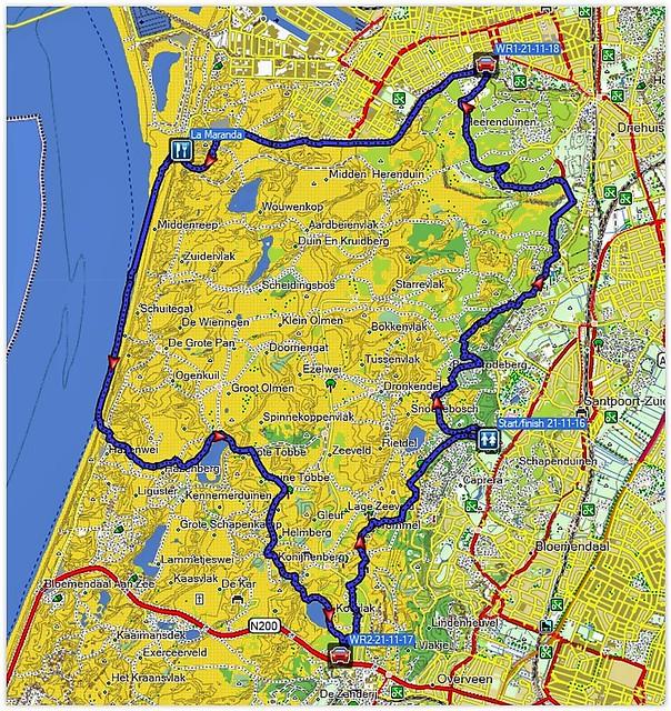 2018-11-21              Bloemendaal         25 km    (137)