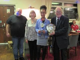 Jaya Collinson – Foresters Friendly Fidelity Award