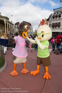 Meeting Chicken Little and Abby Mallard | by Disney Dan