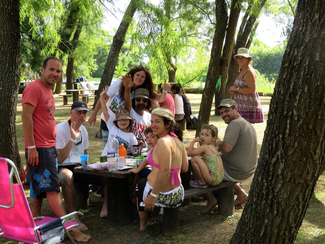 Almuerzo en Ecocamping Los Benitos