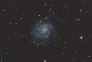 M101 Pinwheel Galaxy PS Edit Stack_164frames_9840s_WithDisplayStretch | by BlackWikkett