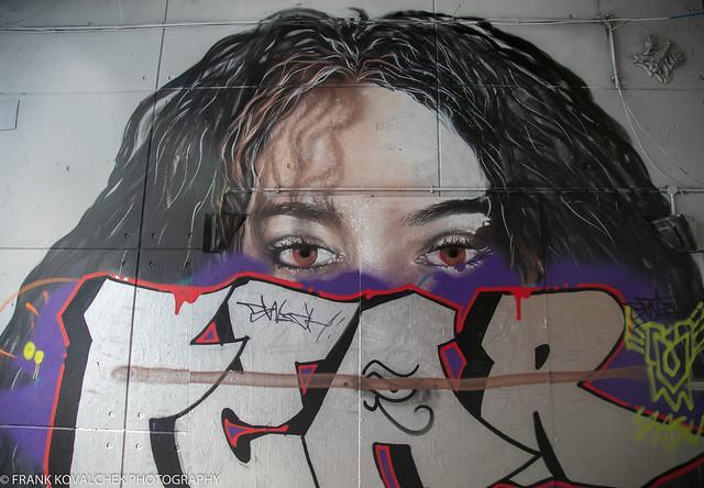 Art in the Leake Street Tunnel, London