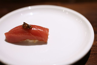 Tuna Zuke (blue fin tuna marinated with jalapeno soy), Japan | by JFOODIE