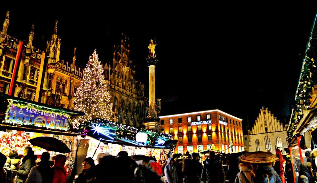 Munich Germany Christmas.Christmas Market Marienplatz Munich Germany Snuffy Flickr