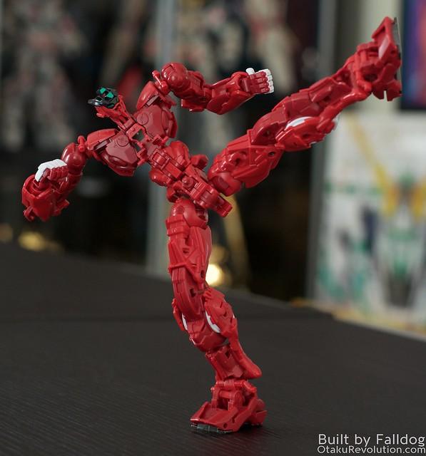 HiRM Astray Red Frame Gundam 5