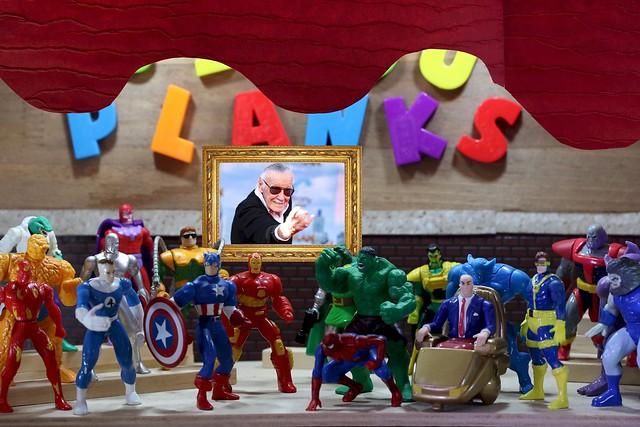 Excelsior!  The curtain lowers.
