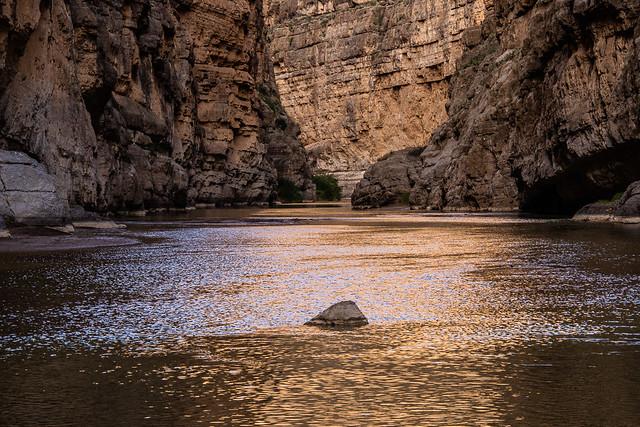 Santa Elena Canyon reflections