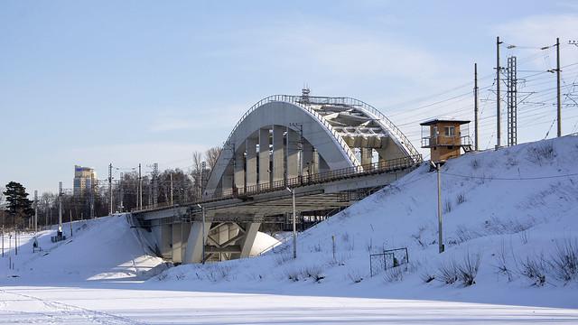 Химкинский мост.