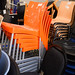 Tall stacking chairs E85