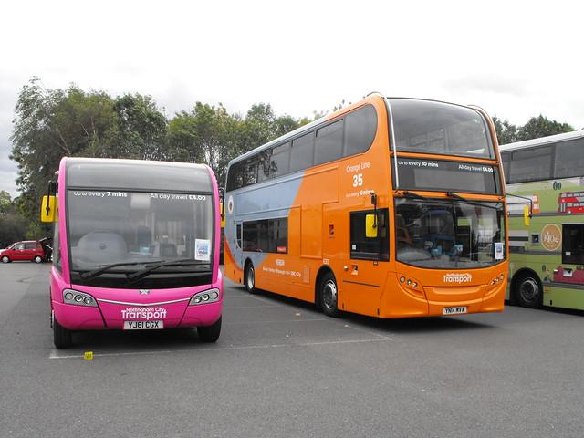 Nottingham City Transport @ Showbus 2018 (2)