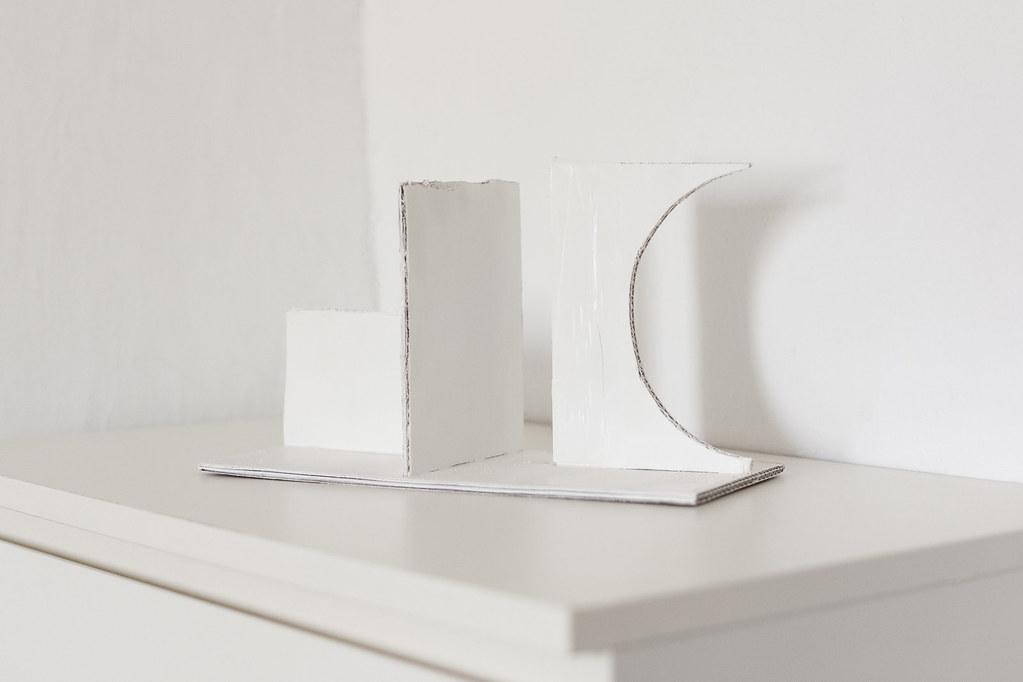 Cardboard Sculpture Work