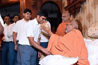 Std-10-11-12-visit-to-Haridham-for-Swamishree's-Blessings-(88) | by Atmiya Vidya Mandir