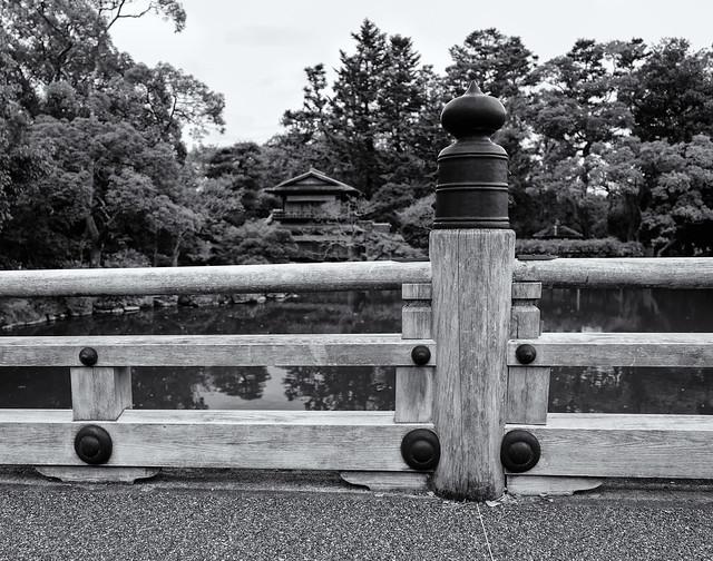 The bridge and the tea house