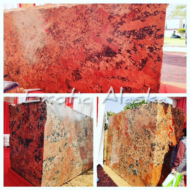 Alaska Red Granite.  Call us for inquiry 8385806285 Email-omindianstones@gmail.com  #countertops #kitchendesign #granite #kitchen #quartz #kitchenremodel #interiordesign #design #marble #homedecor #quartzcountertops #granitecountertops #renovation #bathro