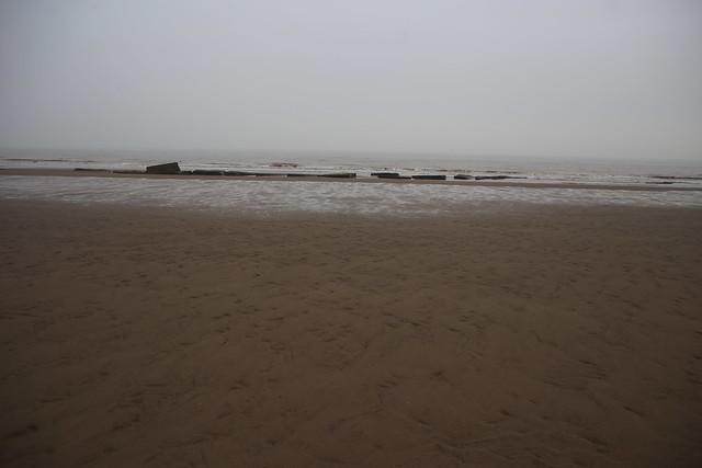 The beach at Kilnsea