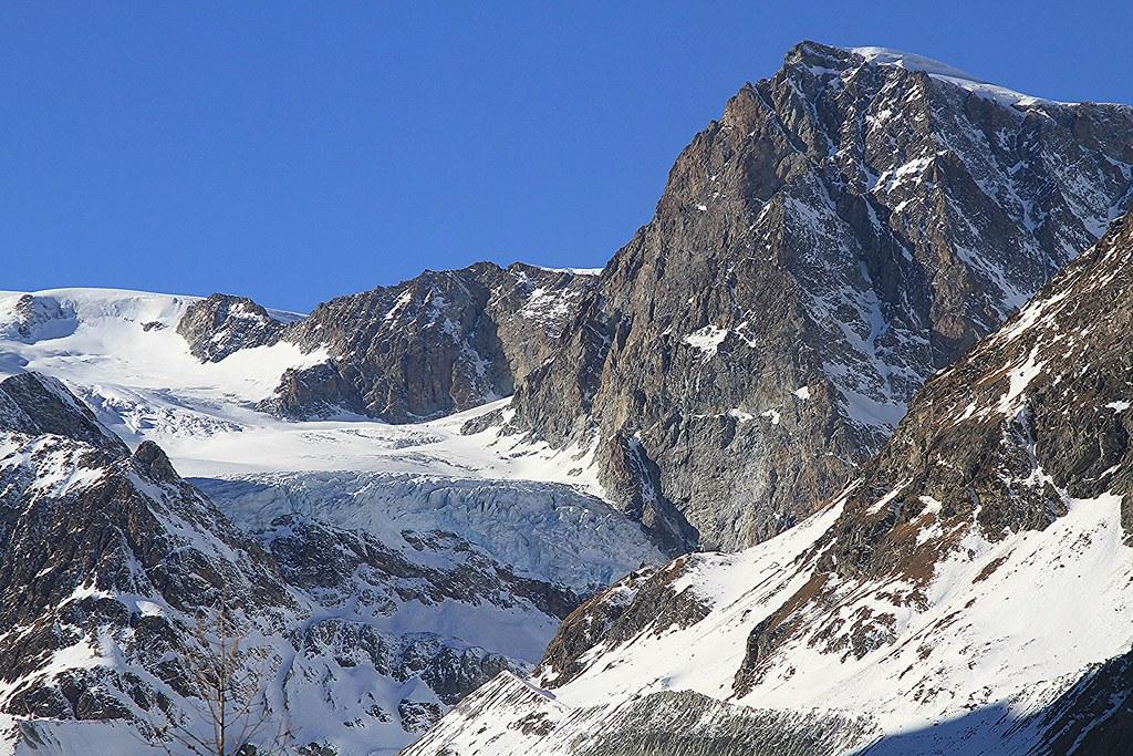 Glacier Zmutt Valley