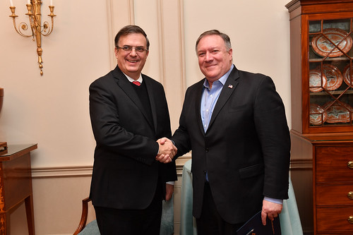 Secretary Pompeo hosts Mexican Foreign Secretary-Designate Marcelo Luis Ebrard Casaubón | by U.S. Department of State