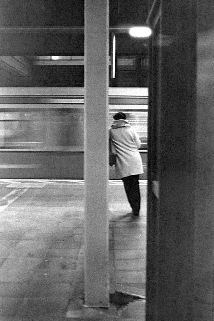 Grainy Days on the Platform
