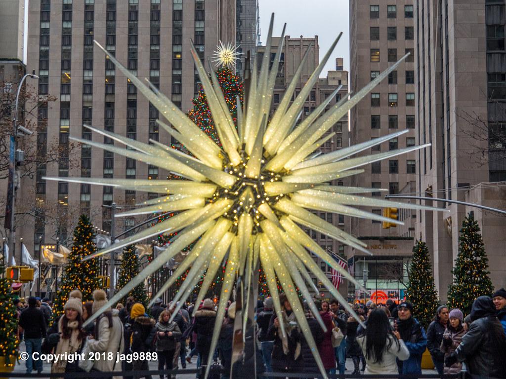 Rockefeller Center Christmas Tree Swarovski Star Display Flickr