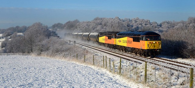 56s in the snow