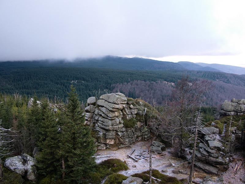 Widok z Polední kameny