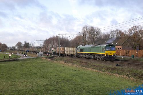 DE 676 Rhein-Cargo . Horst-Sevenum . 09.12.18.