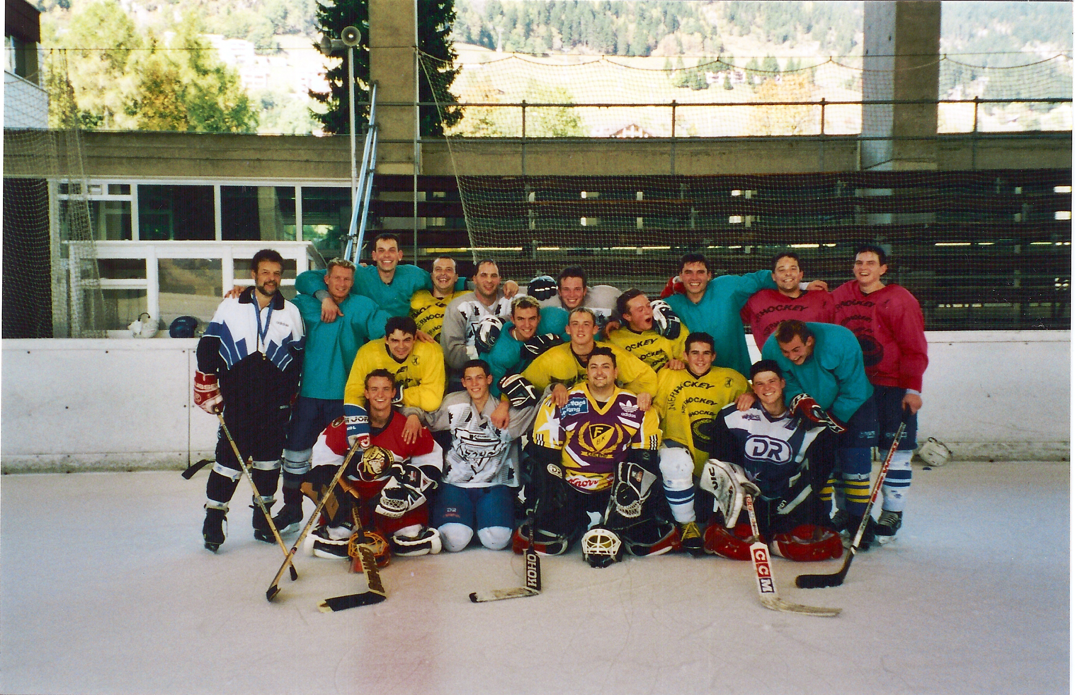 Trainingslager Leysin 2001