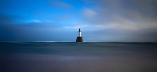 aberdeenshire rattrayhead lighthouse longexposure sunrise sunset landscape water blue scotland sea sky canon canon5d eos